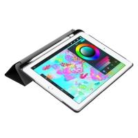 Чехол Fashion Smart Case для iPad 9.7 2018 с держателем для стилуса Apple Pencil Черный
