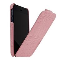 чехол borofone crocodile для iphone 5 / 5s розовый
