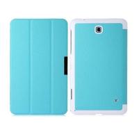 чехол fashion case для galaxy tab 4 7.0 t230, t231 голубой