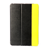 чехол guoer для ipad mini черно-желтый
