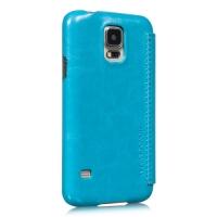 чехол hoco classic view case galaxy sv s5 g900f голубой