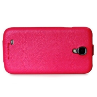 чехол hoco leather case для galaxy siv s4 i9500 малиновый