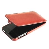 чехол melkco leather case для iphone 5 / 5s коричневый