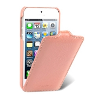 чехол melkco leather case для iphone 5 / 5s розовый