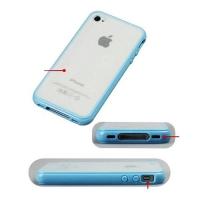 накладка бампер для iphone 4 / 4s матовая