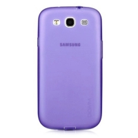 накладка для samsung galaxy siii s3 i9300 фиолетовая