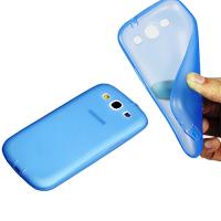 накладка для samsung galaxy siii s3 i9300 голубая