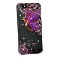 накладка (фея) для iphone 5 / 5s фиолетовая