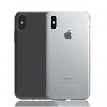 Накладка глянцевая для iPhone X разные цвета