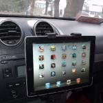 Держатель автомобильный в печку, воздуховод с креплением для планшета