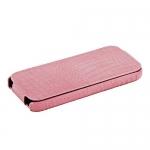 чехол borofone crocodile для iphone se розовый