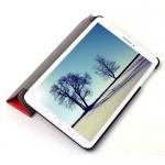 Чехол Fashion для Samsung Tab E  8.0 SM-T375, T377 Красный