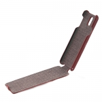 чехол hoco leather case для galaxy note 3 n9000 коричневый