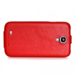 Чехол HOCO Leather Case для Galaxy SIV S4 I9500 Красный