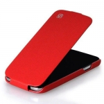 чехол hoco leather case для galaxy siv s4 i9500 красный