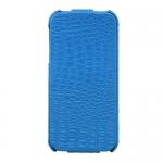 Чехол iHUG Crocodile Case для iPhone 5 / 5S Синий