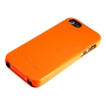 чехол melkco для iphone se оранжевый