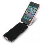 чехол melkco leather case для iphone 4 / 4s розовый