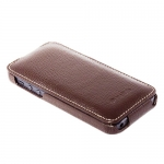 Чехол Melkco Leather Case для iPhone 5 / 5S Коричневый