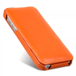 чехол melkco leather case для iphone 5 / 5s оранжевый
