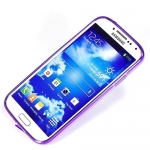 накладка для samsung galaxy siv s4 i9500 фиолетовая