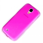 Накладка для Samsung Galaxy SIV S4 I9500 Розовая