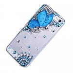 накладка  (фея) для iphone 5 / 5s голубая