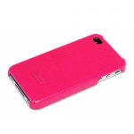 накладка hoco protection для iphone 4 / 4s розовый